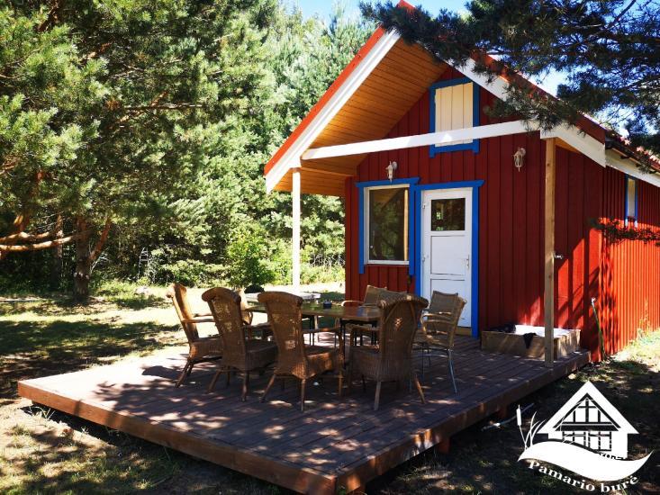 Homstead - guest house PAMARIO BURĖ near Curonian lagoon with a restaurant, sauna - 48