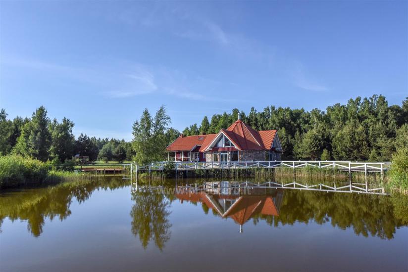 Gehöft - Gästehaus PAMARIO BURĖ in der Nähe der Kurischen Lagune mit Restaurant, Sauna - 3