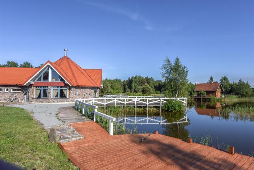 Gehöft - Gästehaus PAMARIO BURĖ in der Nähe der Kurischen Lagune mit Restaurant, Sauna - 4