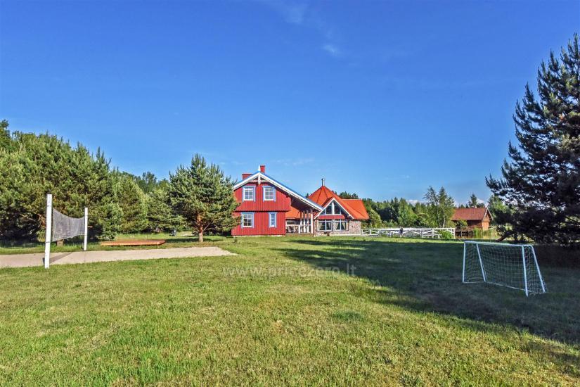 Gehöft - Gästehaus PAMARIO BURĖ in der Nähe der Kurischen Lagune mit Restaurant, Sauna - 5