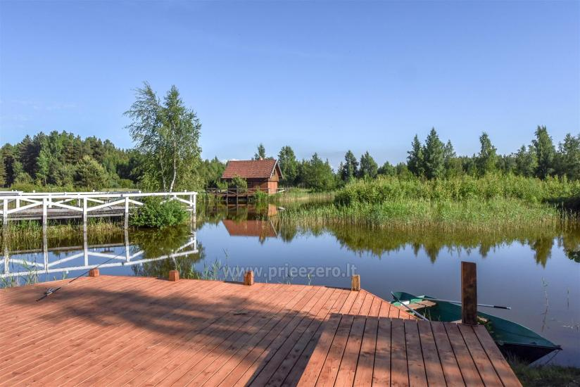 Pensjonat PAMARIO BURĖ w pobliżu Zalewu Kurońskiego z restauracją, sauną - 13