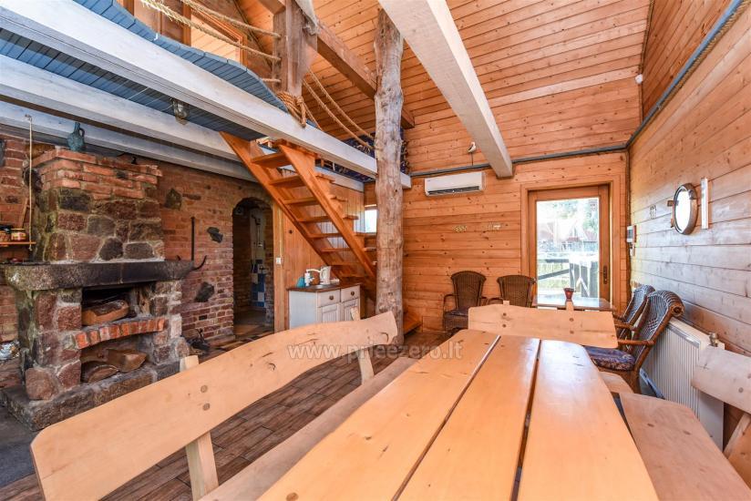 Homstead - guest house PAMARIO BURĖ near Curonian lagoon with a restaurant, sauna - 19