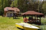 Countryside tourism at the Lavysas lake Keružė