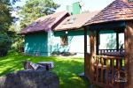 HONEY APARTMENT WITH SAUNA for TWO at the lake near Trakai