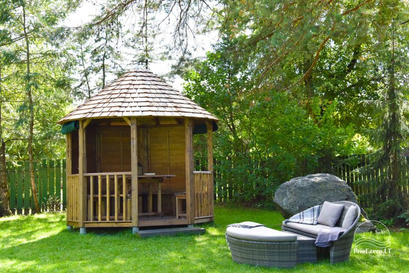 HONEY APARTMENT WITH SAUNA for TWO at the lake near Trakai - 28