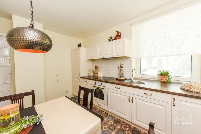 HONEY APARTMENT WITH SAUNA for TWO at the lake near Trakai - 16