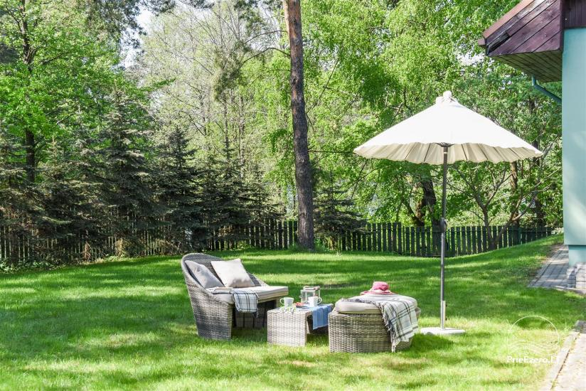 HONEY APARTMENT WITH SAUNA for TWO at the lake near Trakai - 30