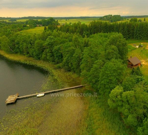 Сельская усадьба Маленький домик на берегу озера Чичирис - 1