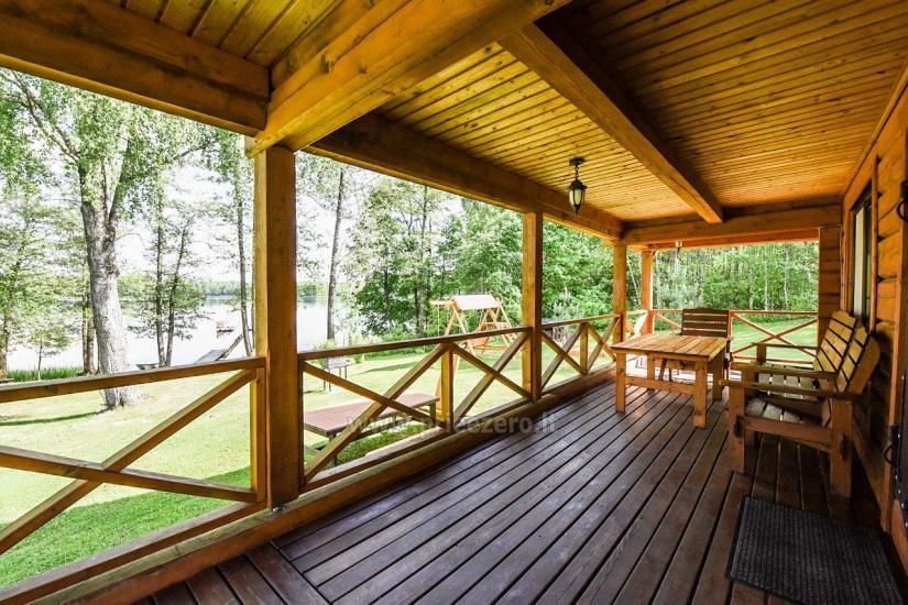 Сельская усадьба Маленький домик на берегу озера Чичирис - 9