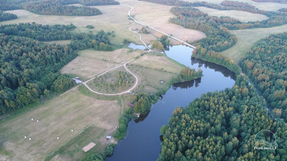 Misgiriai namiotowe w regionie Kłajpeda, Litwa - 2