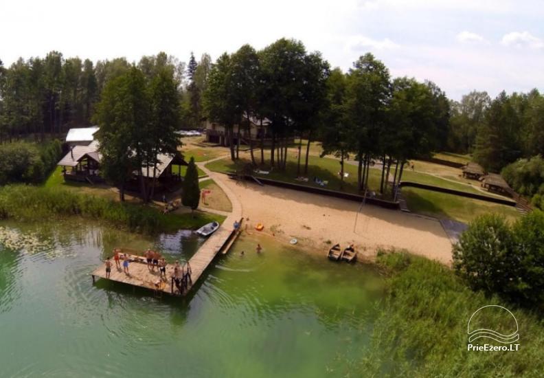 Agroturystyka - hotel nad jeziorem Burokaraistis Vila Ula - 2