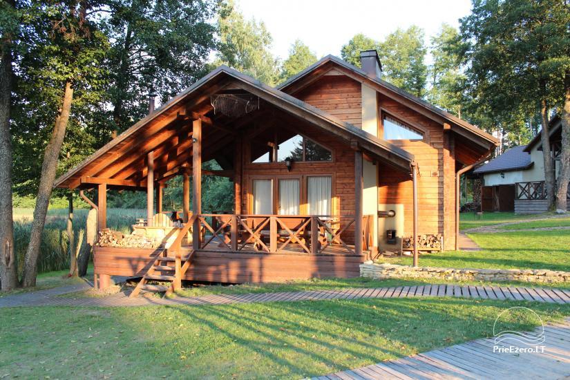 Agroturystyka - hotel nad jeziorem Burokaraistis Vila Ula - 10