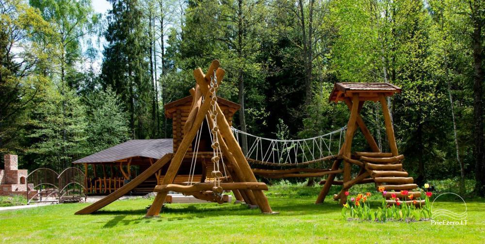 Villa Pasaka near Kaunas: hall, sauna, mini SPA, recreation and entertainments - 33