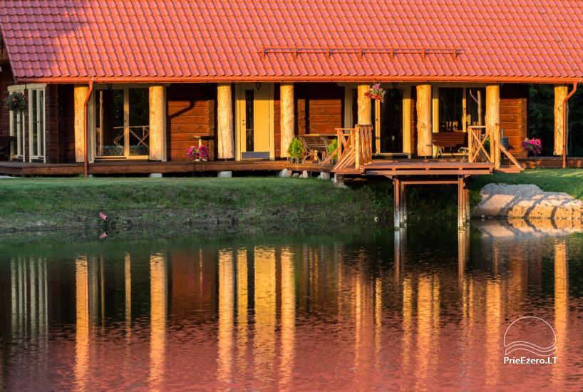 Villa Pasaka near Kaunas: hall, sauna, mini SPA, recreation and entertainments - 30