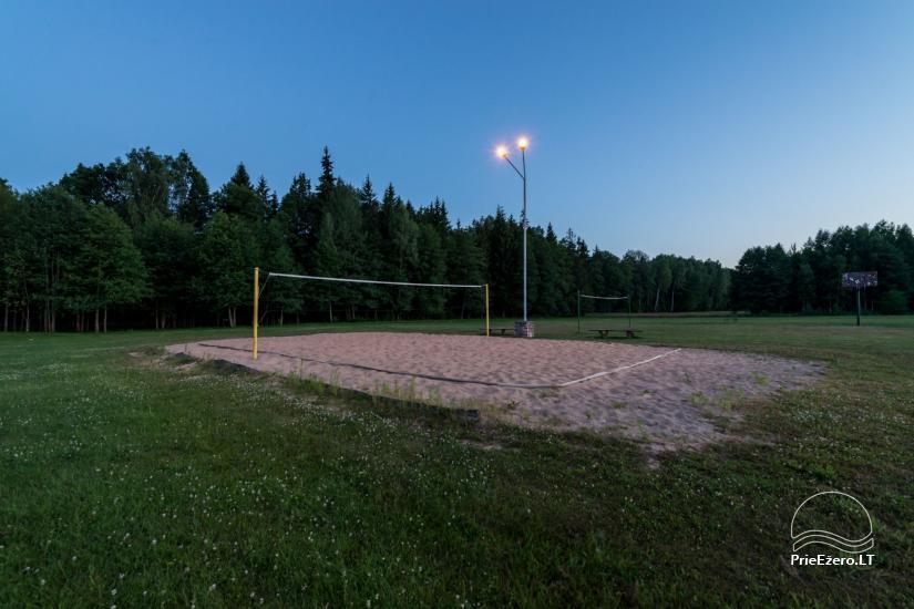Villa Pasaka near Kaunas: hall, sauna, mini SPA, recreation and entertainments - 38
