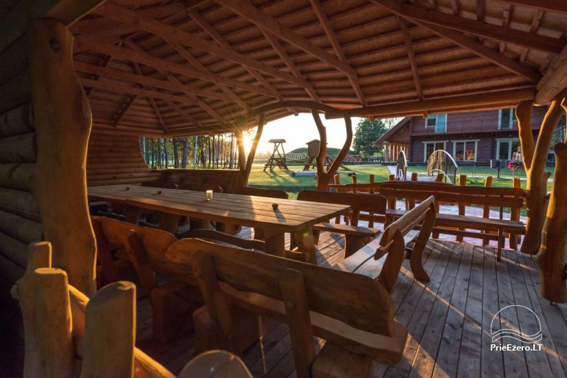 Villa Pasaka near Kaunas: hall, sauna, mini SPA, recreation and entertainments - 35