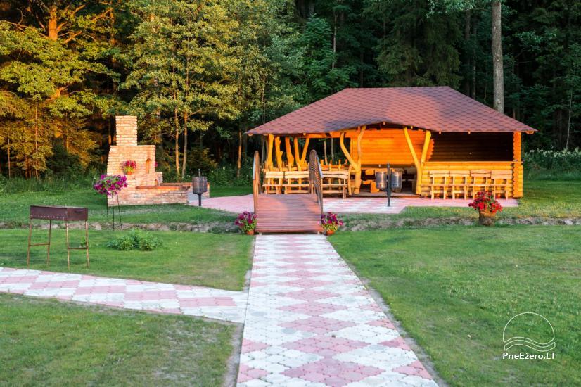 Villa Pasaka near Kaunas: hall, sauna, mini SPA, recreation and entertainments - 34
