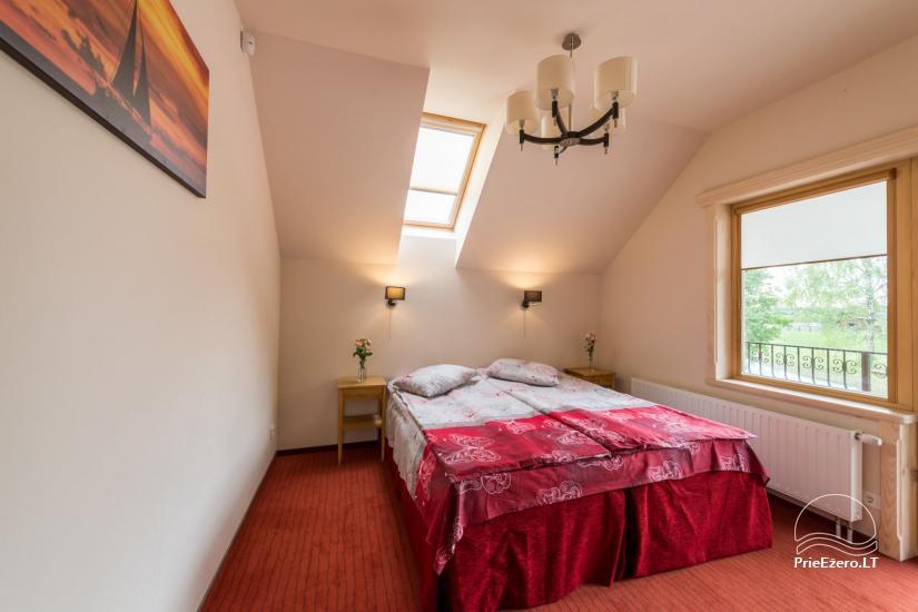 Villa Pasaka near Kaunas: hall, sauna, mini SPA, recreation and entertainments - 46
