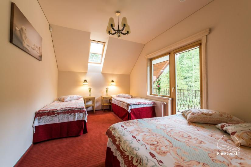 Villa Pasaka near Kaunas: hall, sauna, mini SPA, recreation and entertainments - 48