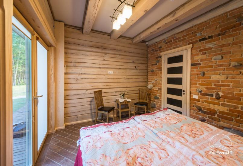 Villa Pasaka near Kaunas: hall, sauna, mini SPA, recreation and entertainments - 51