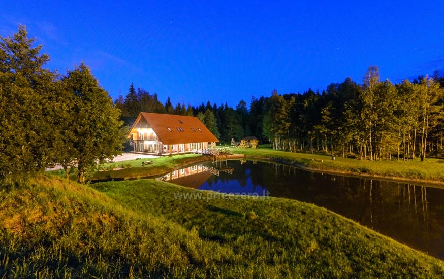 Villa Pasaka near Kaunas: hall, sauna, mini SPA, recreation and entertainments - 1