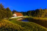 Villa Pasaka near Kaunas: hall, sauna, mini SPA, recreation and entertainments