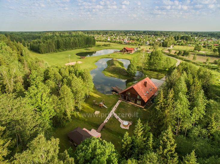 Villa Pasaka near Kaunas: hall, sauna, mini SPA, recreation and entertainments - 2