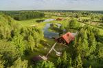 Villa Pasaka near Kaunas: hall, sauna, mini SPA, recreation and entertainments - 5