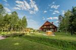 Villa Pasaka near Kaunas: hall, sauna, mini SPA, recreation and entertainments - 3