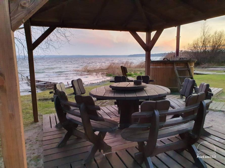 House rental on the shore of the lake - 16