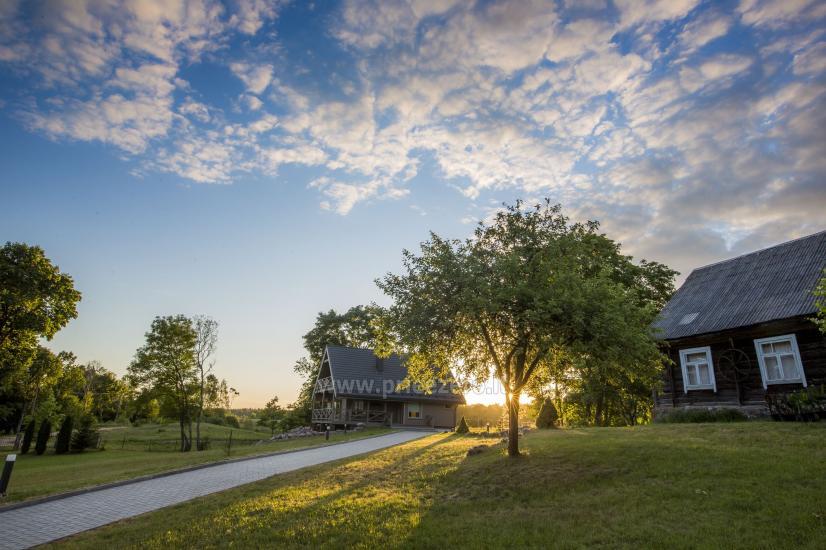 Countryside homestead Frankava on the lake shore in Trakai region - 24