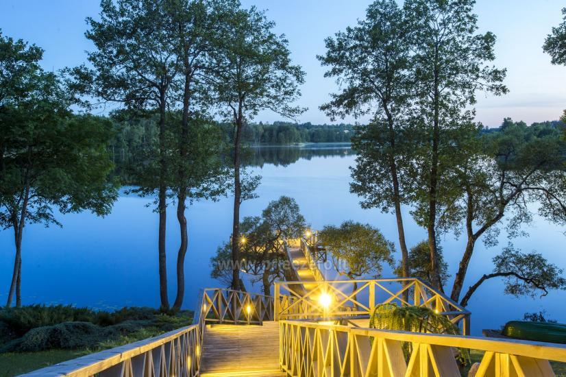 Countryside homestead Frankava on the lake shore in Trakai region - 14