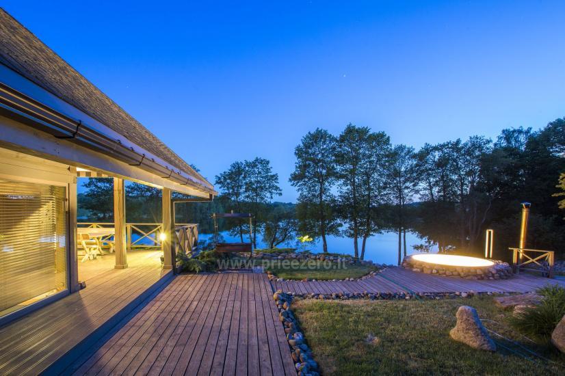 Countryside homestead Frankava on the lake shore in Trakai region - 16