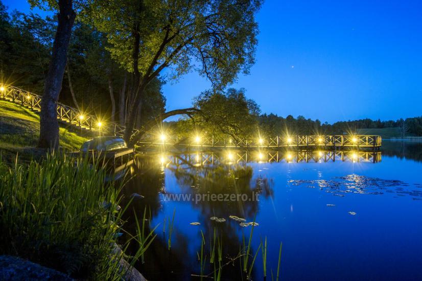 Countryside homestead Frankava on the lake shore in Trakai region - 15