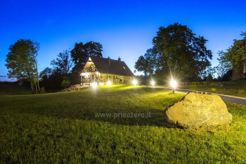 Countryside homestead Frankava on the lake shore in Trakai region - 25