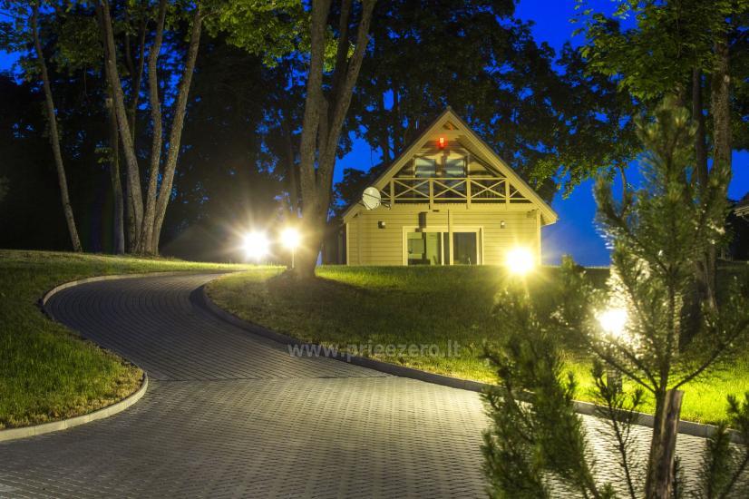 Countryside homestead Frankava on the lake shore in Trakai region - 40