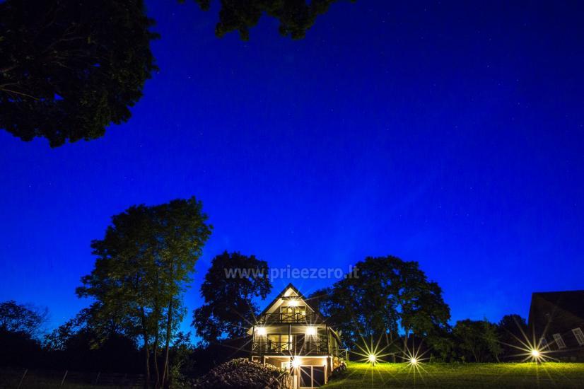 Countryside homestead Frankava on the lake shore in Trakai region - 26