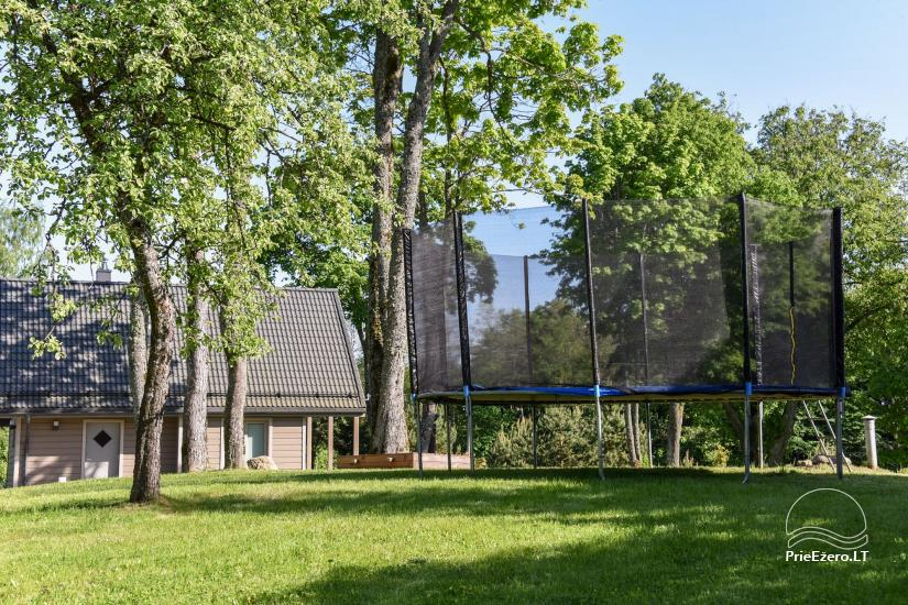 Countryside homestead Frankava on the lake shore in Trakai region - 20