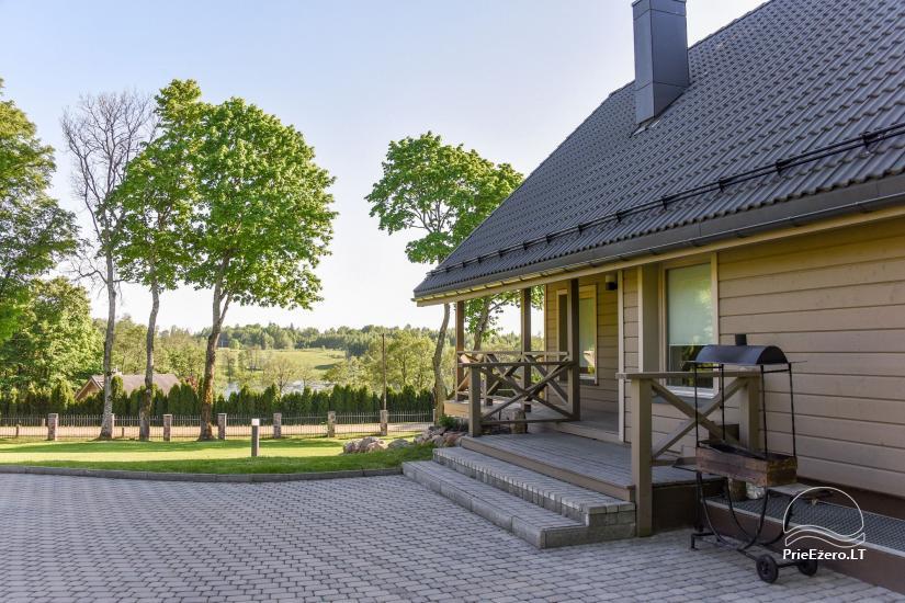 Countryside homestead Frankava on the lake shore in Trakai region - 27