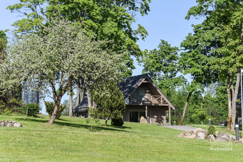 Countryside homestead Frankava on the lake shore in Trakai region - 39