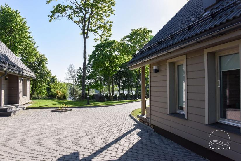 Countryside homestead Frankava on the lake shore in Trakai region - 41