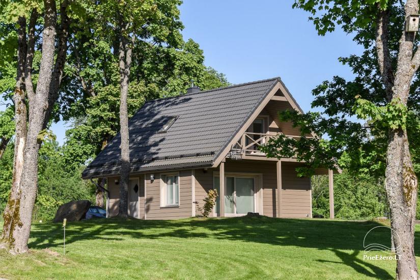 Countryside homestead Frankava on the lake shore in Trakai region - 49
