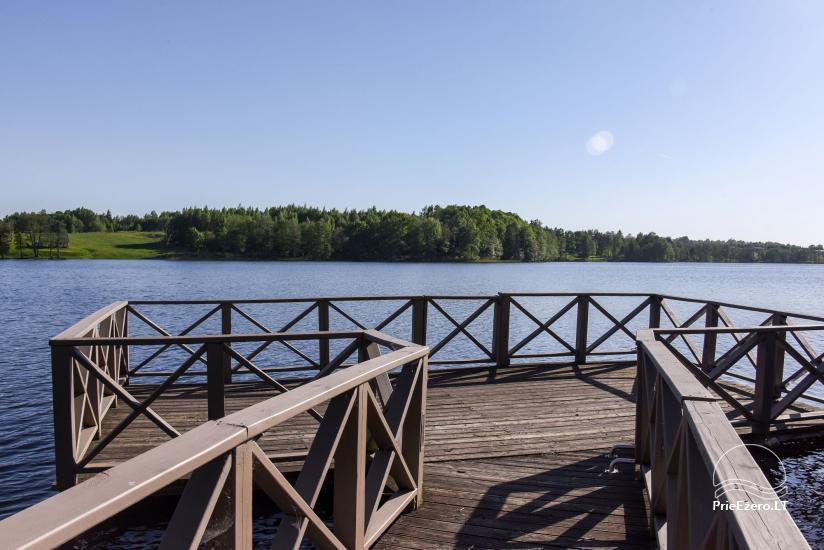 Countryside homestead Frankava on the lake shore in Trakai region - 12