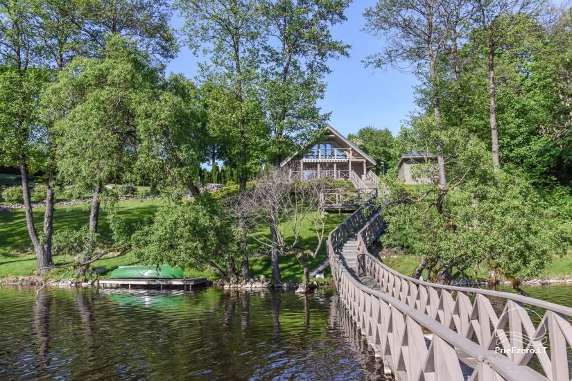 Countryside homestead Frankava on the lake shore in Trakai region - 13