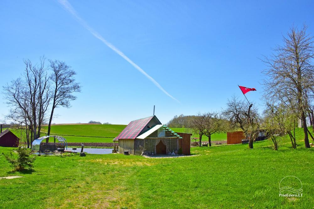 Wieś zagroda Stasiuko sodyba w Trockim rejonie - 31