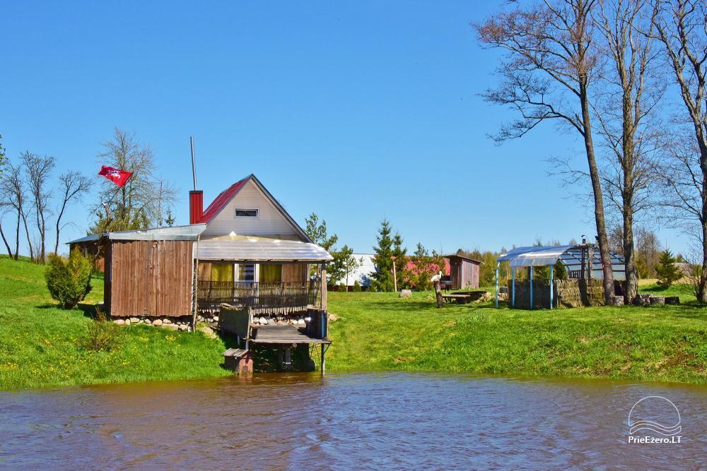 Wieś zagroda Stasiuko sodyba w Trockim rejonie - 42