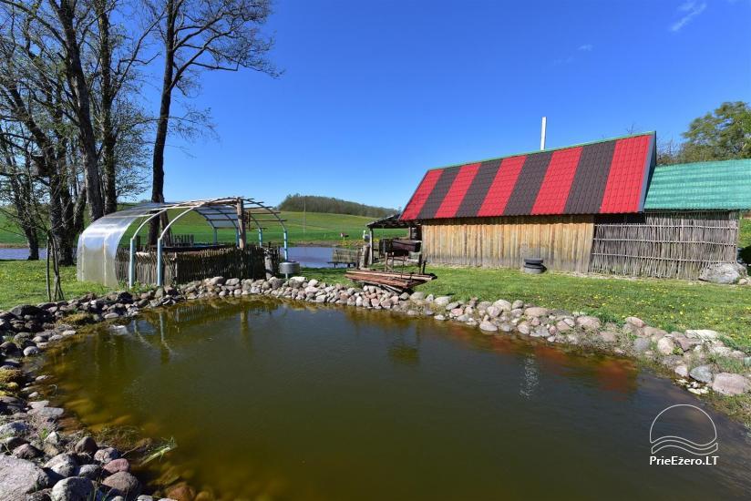 Wieś zagroda Stasiuko sodyba w Trockim rejonie - 40