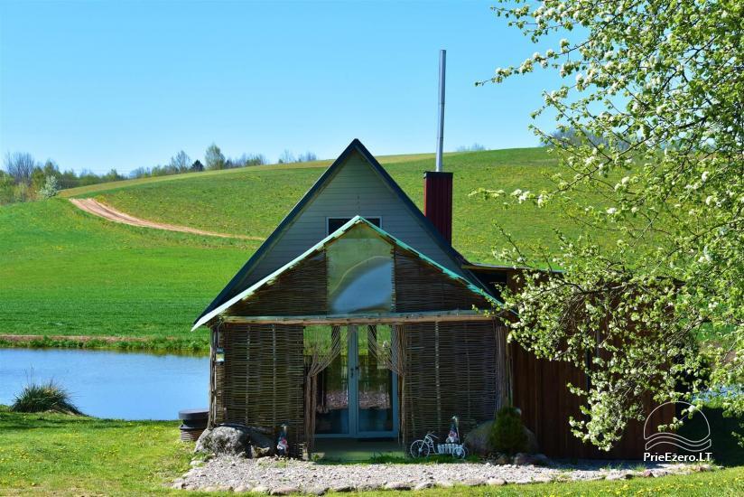 Wieś zagroda Stasiuko sodyba w Trockim rejonie - 38