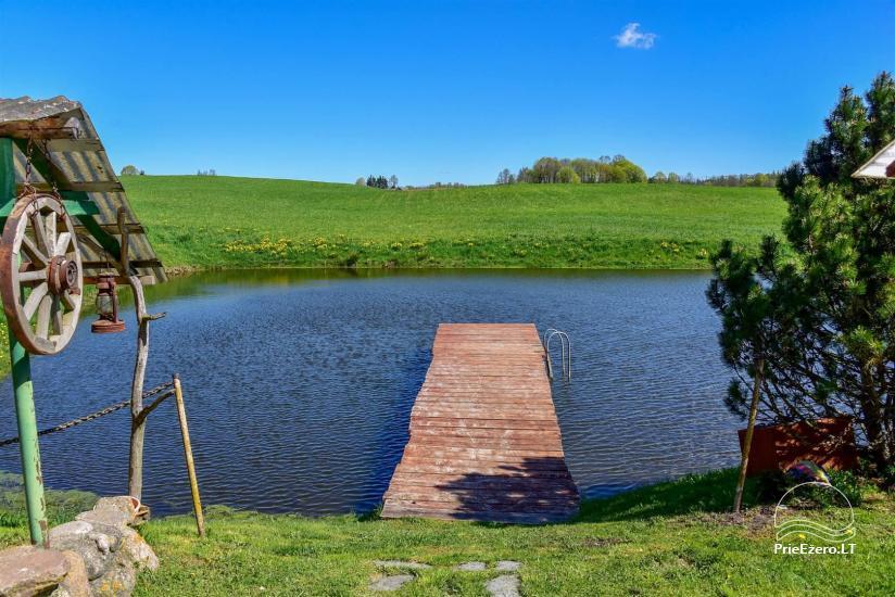 Wieś zagroda Stasiuko sodyba w Trockim rejonie - 14
