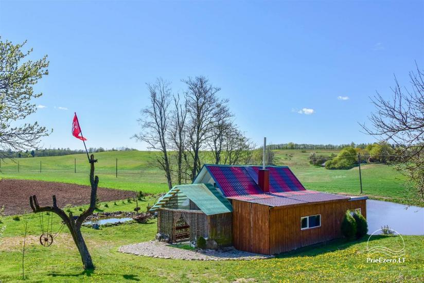 Wieś zagroda Stasiuko sodyba w Trockim rejonie - 33